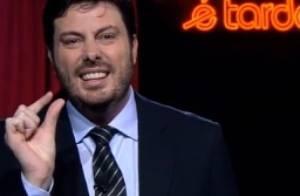 Danilo Gentili está insatisfeito com a Band e negocia novo programa com o SBT