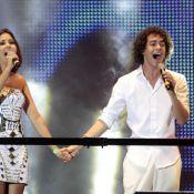 Sam Alves se apresenta no show da virada da Avenida Paulista, em São Paulo