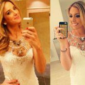 Ticiane Pinheiro e filha de Roberto Justus passam Réveillon com o mesmo vestido