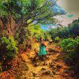 Thaila Ayala tem compartilhado alguns momentos da viagem com fotos no Instagram