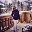Ana Paula Siebert, namorada de Roberto Justus, publica foto da paisagem de Colorado, nos Estados Unidos