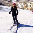 Ticiane Pinheiro esquia em Colorado, nos Estados Unidos