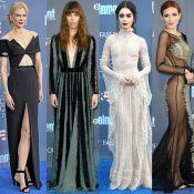 Critics' Choice Awards: Famosas apostam em looks góticos na premiação. Fotos!