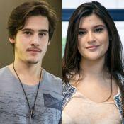 Nicolas Prattes e Giulia Costa escolhem sessão mais vazia para curtirem cinema