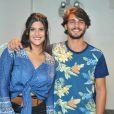 Giulia Costa está oficialmente solteira desde o fim do seu namoro com Brenno Leone, em junho deste ano