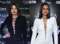 Camila Queiroz repete vestido Balmain já usado por Bruna Marquezine. Veja fotos!