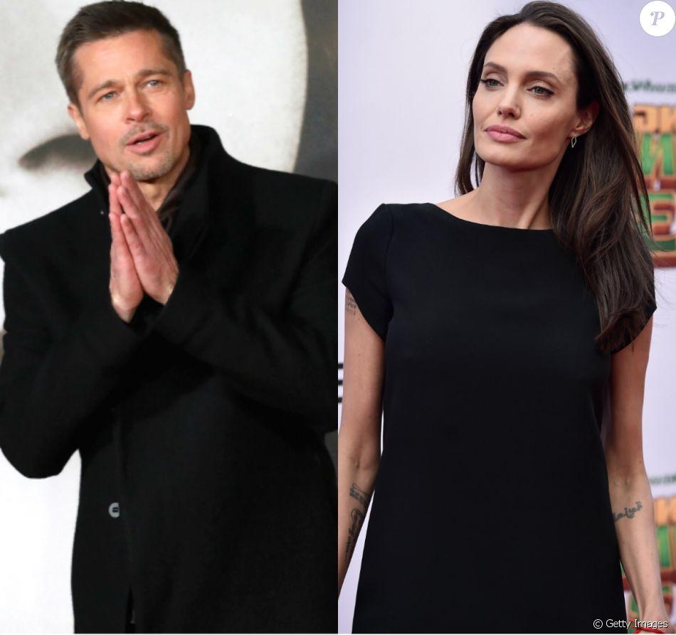 Brad Pitt quer ver filhos no Natal e Angelina Jolie veta: 'Não estão preparados'