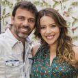 Felipe (Marcelo Faria) e Sirlene (Renata Dominguez) vãi se beijar nos próximos capítulos da novela 'Sol Nascente'