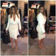O vestido de Kim Kardashian rasgou e ela precisou trocar de roupa rapidamente