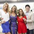 Sergio Marone irá dividir o comando do 'Hoje em Dia' com as apresentadoras Ana Hickmann, Ticiane Pinheiro e Renata Alves