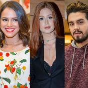 Bruna Marquezine e Marina Ruy Barbosa já ficaram com Luan Santana, diz colunista