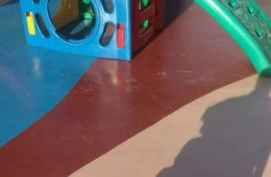 Filho de Aline Gotschalg, Lucca, de 7 meses, esbanja fofura em vídeo: 'Meu amor'