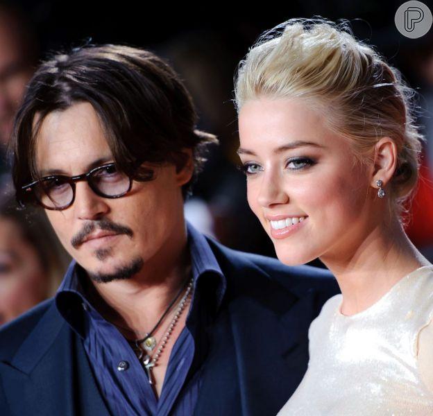 Johnny Depp e Amber Heard podem estar noivos