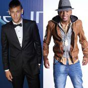 Neymar e Nego do Borel exibem dentes branquíssimos e web ironiza: 'Bala mentex?'
