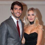 Kaká vai com Carolina Dias, apontada como nova namorada, a casamento de amigo