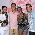 Rodrigo Simas prestigiou Felipe Simas após sua vitória no 'Dança dos Famosos'