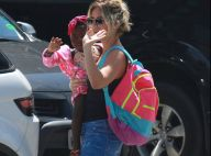 Giovanna Ewbank posta foto da filha, Títi, lambuzada de melancia: 'Felicidade'