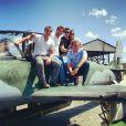 Os atores tiveram aulas de voo para 'A flor do Caribe'