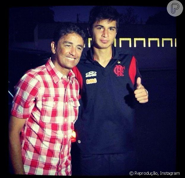 Mattheus é filho do ex-jogador da Seleção Brasileira, Bebeto