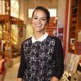 Bruna Marquezine, que participou da coletiva da novela 'Em Família' na quarta-feira, 22 de janeiro de 2014, não fala sobre a relaão com Neymar. Os dois terminaram o namoro em dezembro, mas parecem já ter reatado a relação