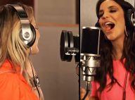 Ivete Sangalo e Claudia Leitte gravam clipe separadas e edição as une em vídeo