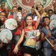 Paloma Bernardi tem feito aulas de samba para não fazer feio no Carnaval