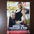 Ana Hickmann fala sobre processo para engravidar do marido, Alexandre Côrrea, à revista 'Contigo!'