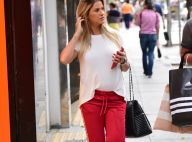 Grávida, Andressa Suita usa look confortável para ir às compras em SP. Fotos!