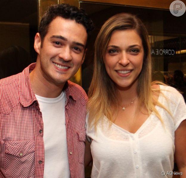 Júlia Rabello exalta parceria com o ex-marido, Marcos Veras: 'Relação muito boa'