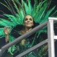 Ivete Sangalo  está intensificando os treinos físicos para fazer bonito durante o Carnaval 2017