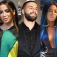 Anitta recentemente precisou negar um suposto envolvimento com o ex de Ludmilla