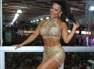 Carnaval: Viviane Araujo exibe pernas torneadas em ensaio do Salgueiro. Fotos!