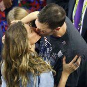 Tom Brady quebra recordes no Super Bowl e ganha beijo de Gisele Bündchen. Fotos!