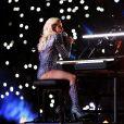 Lady Gaga marcou a noite do Super Bowl com sua apresentação neste domingo, 5 de janeiro de 2017