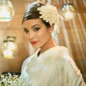 Vestido de noiva de Hirô (Carol Nakamura) em 'Sol Nascente' é um quimono. Fotos!