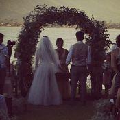 Giselle Itié e Emilio Dantas se casam em cerimônia íntima em Paraty, no Rio