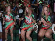 Susana Vieira rebola até o chão com vestido curto: 'É carnaval'. Fotos!