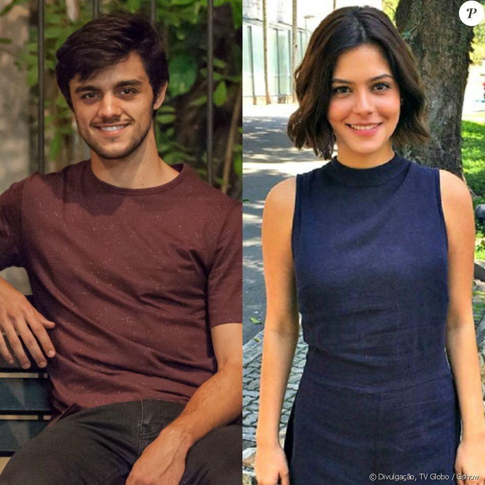 Felipe Simas e Julia Dalavia formarão par na  série 'Os Dias Eram Assim', com estreia prevista para abril de 2017