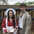 Piatã (Rodrigo Simas) foi adotado, criado pelo pai da Anna (Isabelle Drummond), que era um comandante e viajava muito