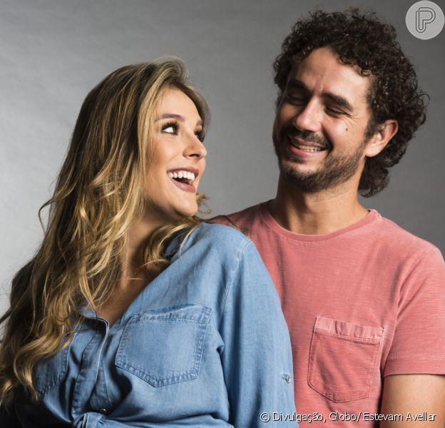 Rafa Brites usou o seu perfil no Instagram para elogiar a atuação do marido, Felipe Andreoli, com o filho, Rocco, nesta quarta-feira, 8 de fevereiro de 2017