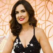 Fátima Bernardes se preocupa com travessuras do pai: 'Corre na escada rolante'