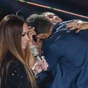 Fã de Anitta invade palco e agarra cantora em gravação de DVD de Solange Almeida