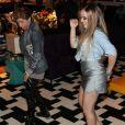 Larissa Manoela dança funk e se diverte durante o lançamento de coleção de moda de  Flavia Pavanelli em parceiria com a grife Miss & Misses, em um apartamento luxuoso, na avenida Paulista, em São Paulo, na noite desta quinta-feira, 9 de fevereiro de 2017