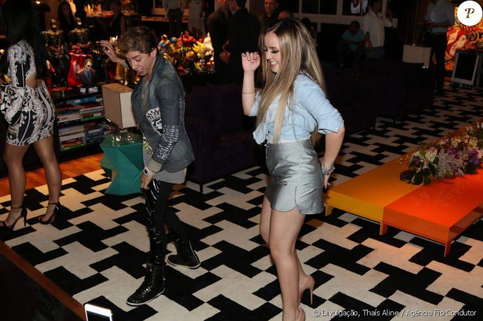 8fbbb30ea810f Larissa Manoela dança funk e se diverte durante o lançamento de coleção de  moda de Flavia Pavanelli em parceiria com a grife Miss   Misses