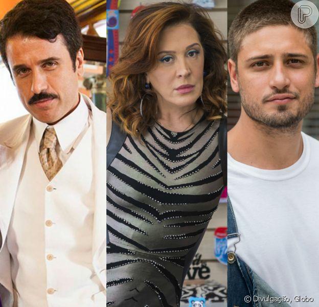 Em 'A Lei do Amor', Eriberto Leão viverá triângulo amoroso com Claudia Raia, como indicou o jornal 'Extra' nesta sexta-feira, dia 10 de fevereiro de 2017