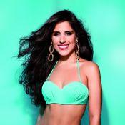 Camilla Camargo posa de biquíni e comenta suas curvas: 'Bastante bumbum e coxa'