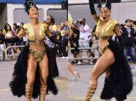 Carnaval 2017: Sabrina Sato usa body cavado e com transparência em ensaio. Fotos
