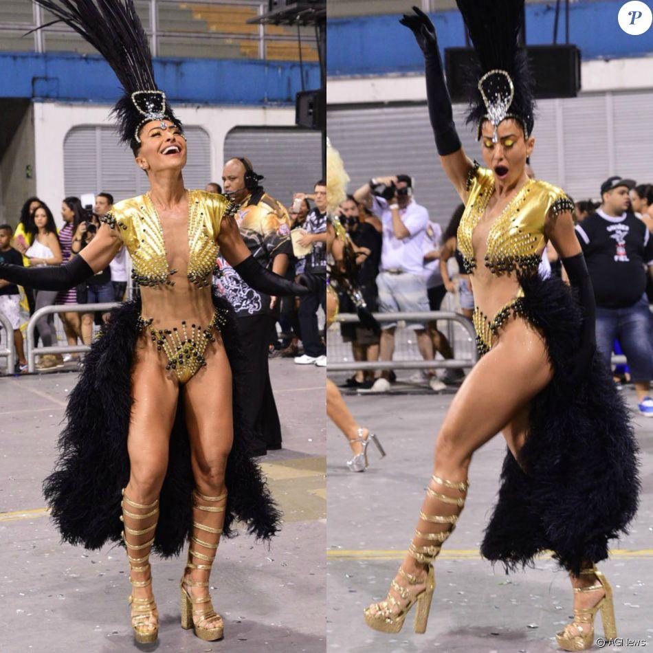2bb04768b451d Carnaval 2017  Sabrina Sato usa body cavado e com transparência em ensaio  da Gaviões na