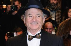 Para esconder cabeça cortada, Bill Murray usa chapéu no Festival de Berlim