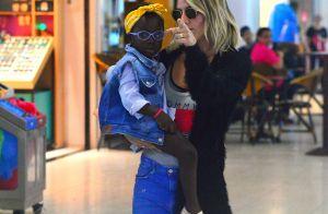 Giovanna Ewbank embarca para São Paulo com a filha, Títi, no colo. Fotos!